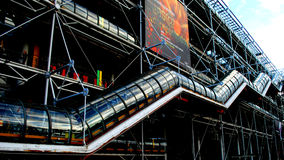 The Pompidou Museum Royalty Free Stock Image