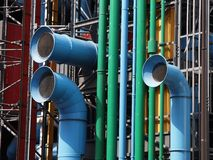 Pompidou Museum, Paris, France Stock Photo