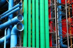 Pompidou Parijs royalty-vrije stock foto's