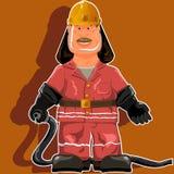 Pompier illustration libre de droits
