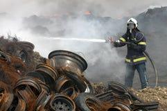 Pompier Photographie stock
