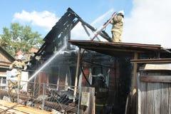 Pompier Image libre de droits