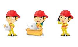 Pompier 3 Image libre de droits