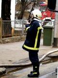 Pompier Photo libre de droits