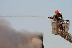 pompier d'action Image libre de droits