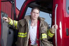 Pompiere Fotografie Stock Libere da Diritti