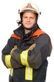 Pompiere Immagine Stock