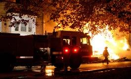 pompiere Fotografia Stock Libera da Diritti