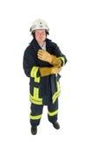 Pompiere Fotografie Stock