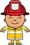 Pompiere del ragazzo Immagine Stock