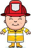 Pompiere del ragazzo Fotografie Stock Libere da Diritti