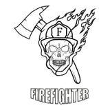 Pompiere Logo Nuovo Glasgow Fire Department Immagine Stock Libera da Diritti