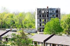 Pompiere Training Facility Fotografie Stock Libere da Diritti