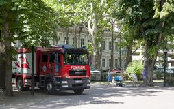 pompieri 112 Photos libres de droits