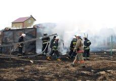 Pompieri Fotografie Stock