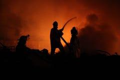 Pompieri Immagini Stock Libere da Diritti