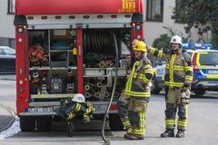 pompieri Immagine Stock