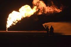 Pompieri nell'azione Immagini Stock Libere da Diritti