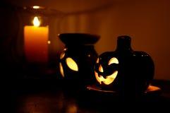 Pompoen 02 van Halloween stock afbeeldingen