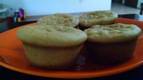 Pompoen cupcakes Royalty-vrije Stock Afbeeldingen