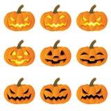 Pompoen Halloween vector illustratie