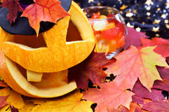 Pompoen Halloween Royalty-vrije Stock Foto's