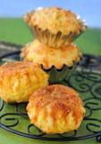 Pompoen-kaas Muffins Stock Fotografie