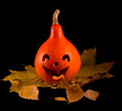Pompoen 1 van Halloween Stock Fotografie
