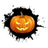 Pompoen voor Halloween Royalty-vrije Stock Foto's