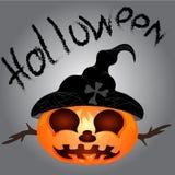 Pompoen voor Halloween Stock Foto