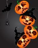 Pompoen voor Halloween Royalty-vrije Stock Fotografie