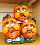Pompoenen Halloween Royalty-vrije Stock Afbeelding