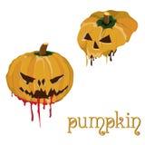 Pompoenen voor Halloween Stock Afbeelding