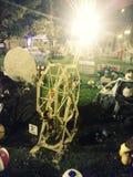 Pompoenfestival royalty-vrije stock foto's