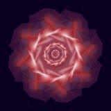 Pompom abstracto virtual Fotografía de archivo