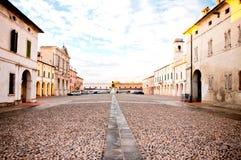 Pomponesco, Italien Stockfotografie