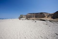 Pomponio State Beach Stock Photography