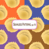 Pompons Pattern Royalty Free Stock Photography