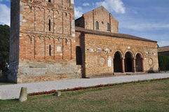 Pomposa abbey - Benedictine monastery, Italy Royalty Free Stock Photography