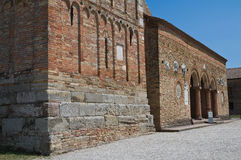 Pomposa Abbey. Codigoro. Emilia-Romagna. Italy. Royalty Free Stock Photo