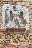Pomposa Abbey. Codigoro. Emilia-Romagna. Italy. Royalty Free Stock Image