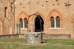 Pomposa abbotskloster - Benedictinekloster, Italien Royaltyfri Foto