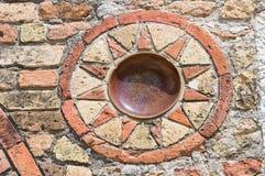 Pomposa abbotskloster. Codigoro. Emilia-Romagna. Italien. Arkivfoton