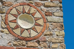 Pomposa Abtei. Codigoro. Emilia-Romagna. Italien. Stockbild