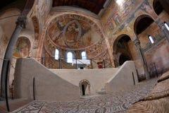 POMPOSA, ITALIA - 9 de octubre de 2016 - abadía de la iglesia de Pomposa Fotografía de archivo