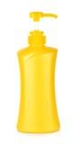 Pompowa butelka na białym tle Fotografia Stock