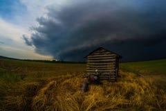 Pompowego domu burza Zdjęcie Royalty Free