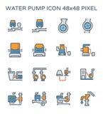 Pompy Wodnej ikona Zdjęcia Stock