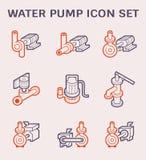 Pompy Wodnej ikona ilustracja wektor