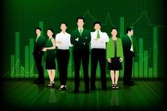 Pomyślna biznes drużyna Zdjęcie Stock
